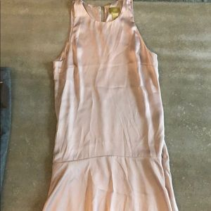 Blush satin H&M dress